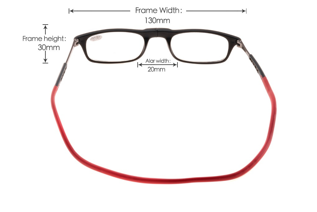Upgraded Clic Magnetic Reading Eye Glasses