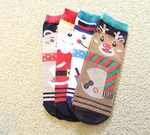 New Stylish Gala Christmas Sock Xmas Socks Hosiery Gift Cute Womens Men Unisex Cartoon Socks
