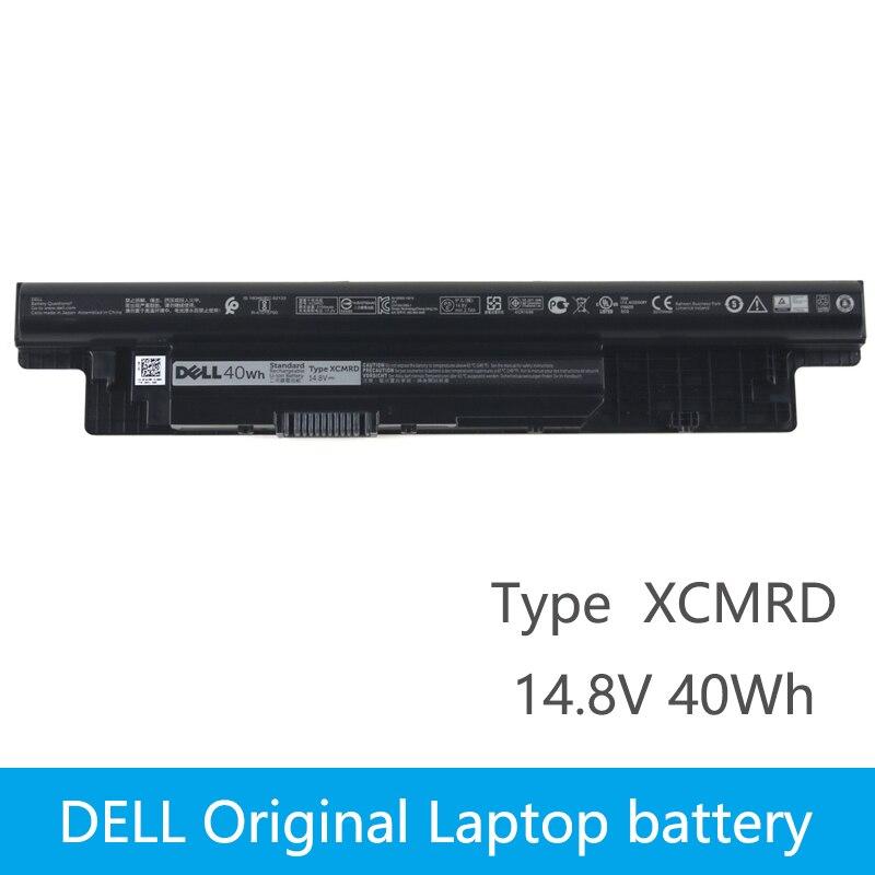 Dell original nova substituição da bateria do portátil para dell inspiron 3421 3721 5421 5521 5721 3521 5537 vostro 2421 2521 xcmrd