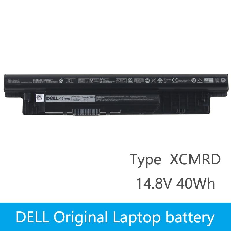 Original Laptop battery For DELL Inspiron 3421 3721 5421 5521 5721 3521 5537 Vostro 2421 2521 XCMRD MR90Y 14.8V 40Wh