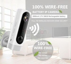 Image 2 - Baterii WiFi kamera akumulator zasilany z baterii 720 P 1080 P Full HD kryty zabezpieczenia sieci bezprzewodowej kamera IP 130 szeroki kąt z systemem IOS aplikacja ICsee