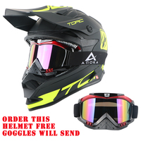 Free Shipping Brand TORC Helmet Adult Moto Helm Casque Casco Capacetes Motorcycle Helmet Off Road Racing