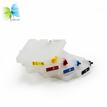 5 sets/ lot refillable ink cartridges for ricoh gc21, refill cartridge with auto reset chios used gx3000