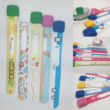 3PCS/Set Variety of Designs and Colours Fully Adjustable Band Reusable Safety Wristbands for Kids Child ID Wristband
