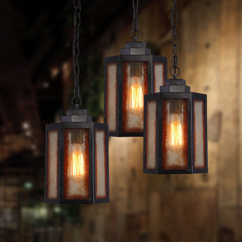 loft style lampe vintage pendant light edison retro. Black Bedroom Furniture Sets. Home Design Ideas