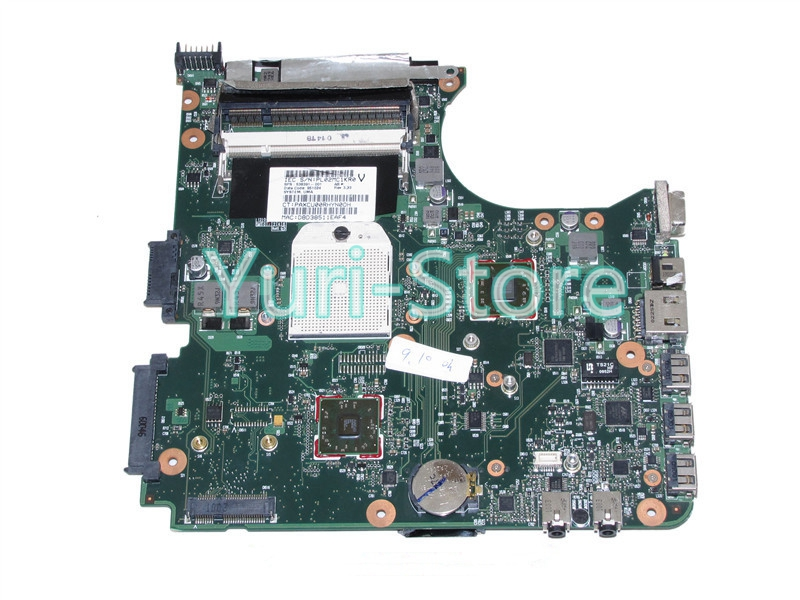 NOKOTION For hp compaq Laptop motherboard 515 615 CQ515 CQ615 SPS 538391-001 DDR2 100% works for hp laptop motherboard 6570b 686976 001 motherboard 100% tested 60 days warranty