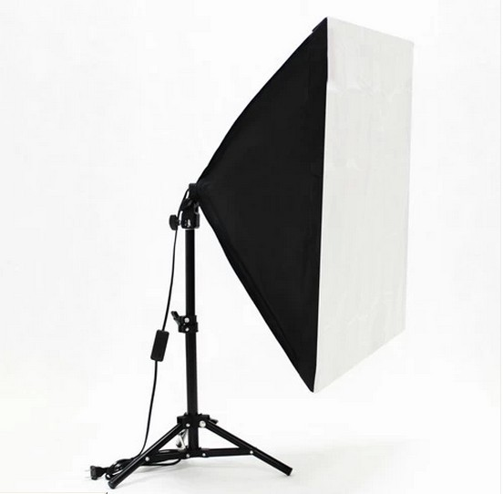 Photography Studio Lighting Kits Foldable 50x 70cm Power Softbox with 68cm Light Stand Photo Studio Kits Accessories Hot Selling наушники akg n20 silver
