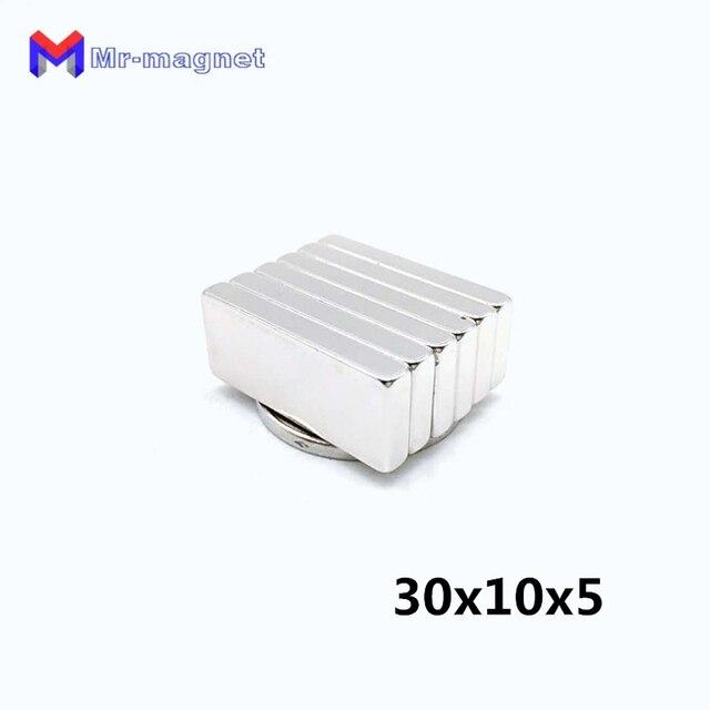 50 pcs 30x10x5mm neo neo dymium المغناطيس 30x10x5 ، 30*10*5 ندفيب المغناطيس 30*10*5mm ، 30mm x 10mm x 5mm مغناطيس 30mm x 10mm x 5mm