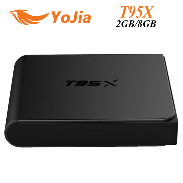10 pcs [Genuine] T95X 2G/8G 2G/16G Amlogic S905X Quad Core Android 6.0 2.4G 100 M LAN KODI H.265 16.1 Airplay DLNA Set Top Box