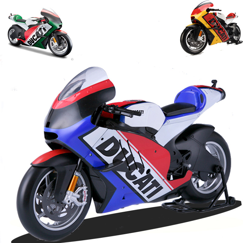 1:6 Scale Alloy Diecast Ducati Motorcycle Model Racing Motor Motorcycle Toys with Original Box For 1/6 Scale Action Figure free shiping by spsr 1 set of chinese edition original octonauts oktopod splelset figure toy with original box child toys