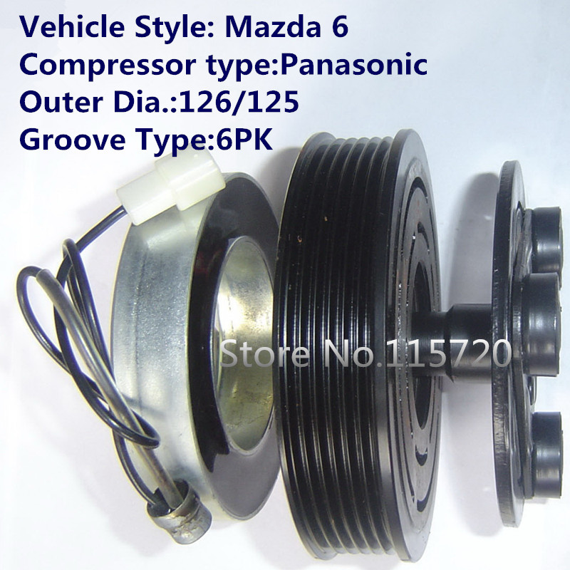 Back To Search Resultsautomobiles & Motorcycles Auto Ac Compressor Clutch Coil For Mazda 3 Panasonic 12v Various Styles