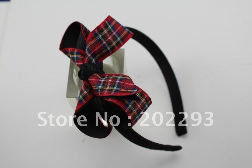 Модная повязка на голову с бантами