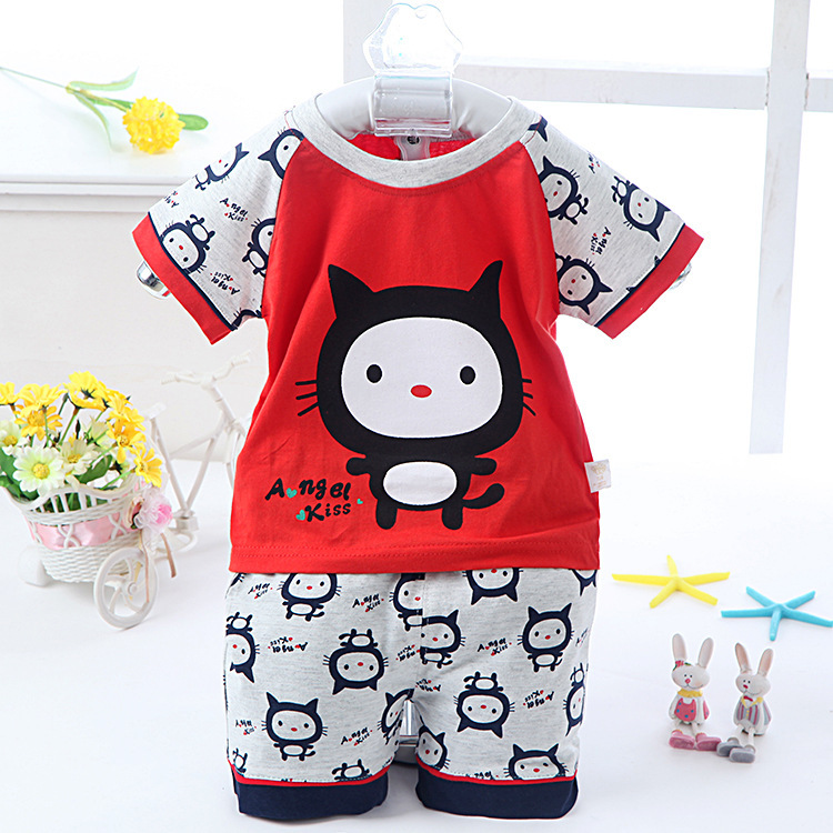 Clothing male child 2015 baby boy summer 0 1 year old 3 6 ...