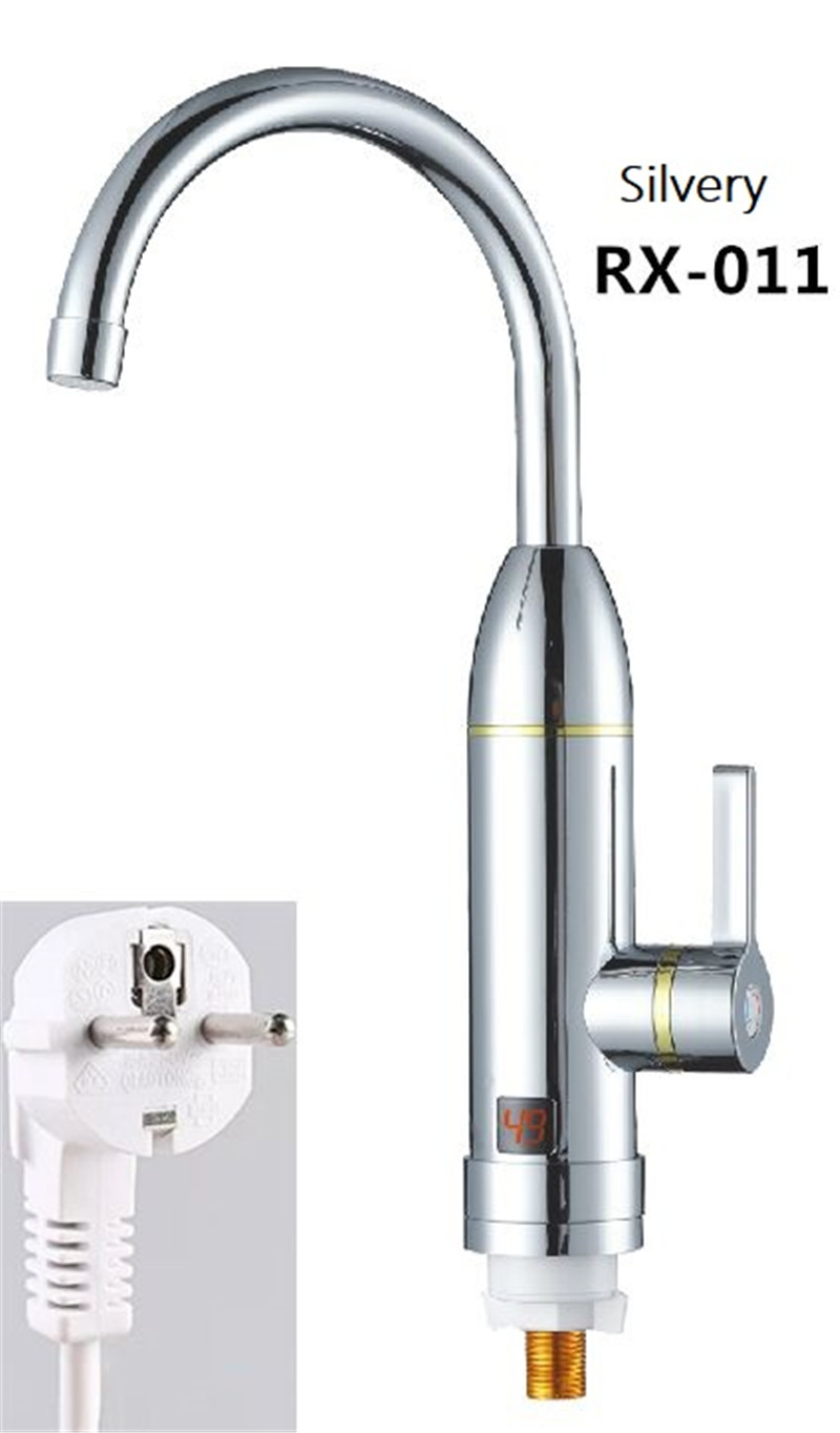 RX-011S,Digital Display Instant Hot Water Tap,Fast Electric Heating Water Tap,Inetant Electric Heating Water Faucet