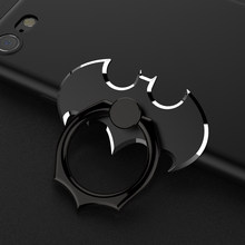 94a5ad5fa Universal Phone Ring Holder Stand 360 Degree Batman Luxury metal Phone Finger  Ring Holder For iPhone X 8 Plus 7 6 Samsung S8 N8