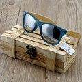 BOBOBIRD Солнцезащитные Очки Ручной Работы Женщин Bamboo & Прозрачный Пластиковая Рамка Красочные Поляризованные Len Очки óculos de sol женщина для 2017
