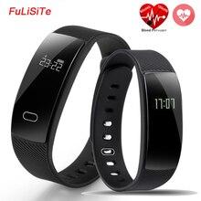 QS80 монитор сердечного ритма Смарт Группа крови Давление монитор умный Браслет фитнес-трекер Смарт-браслет для IOS Android