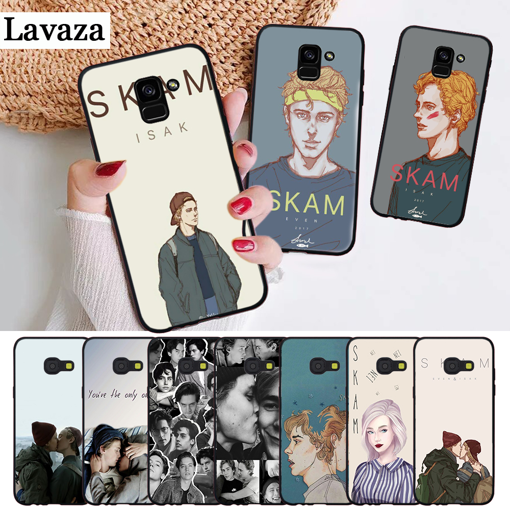 Lavaza Norwegian tv SKAM Luxury Coque Silicone Case for Samsung A3 A5 A6 Plus A7 A8 A9 A10 A30 A40 A50 A70 J6 A10S A30S A50S