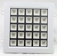 Recessed Bathroom Mirror Online Shopping View More DHLshipping Super 25W Ultra Thin Square Grid Aluminum LED Grille Lamp Kitchen 215