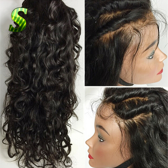 8A Brazilian Full Lace Human Hair Wigs For Black Women Body Wave Lace Front Human Hair Wigs Virgin Hair Glueless Full Lace Wigs