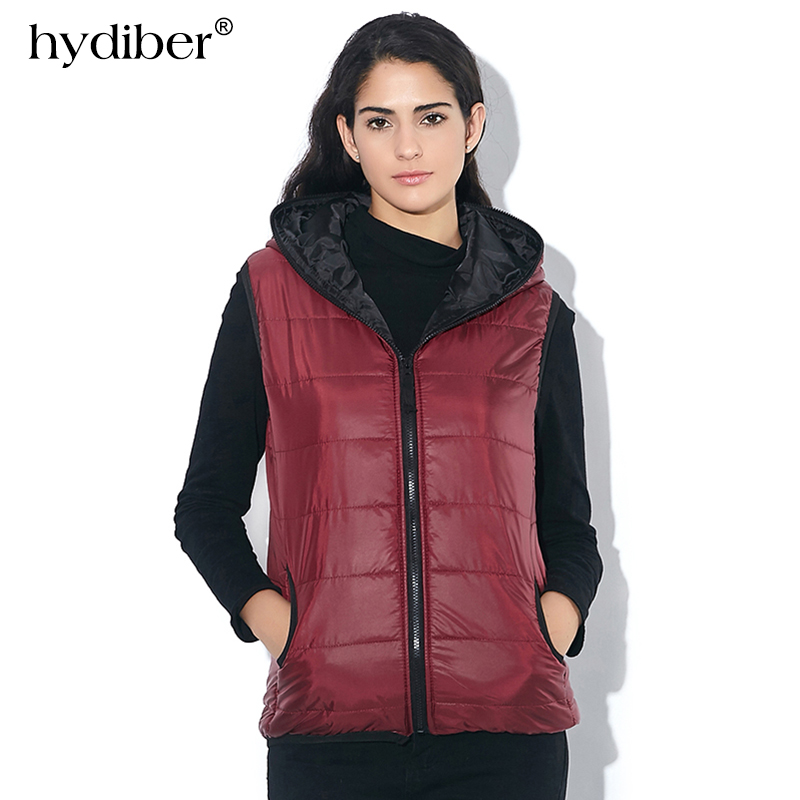 2018 Winter Thickening Outerwear Hooded Patterns Fashion Casual Cotton Slim Women Vest Jacket Motorcycle Vest Women tops olgitum 2017 women vest jackets new fashion thickening solid casual cotton fashion hooded outerwear