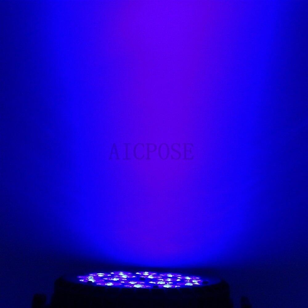 RGBW LED Par Can Luz Com Luzes