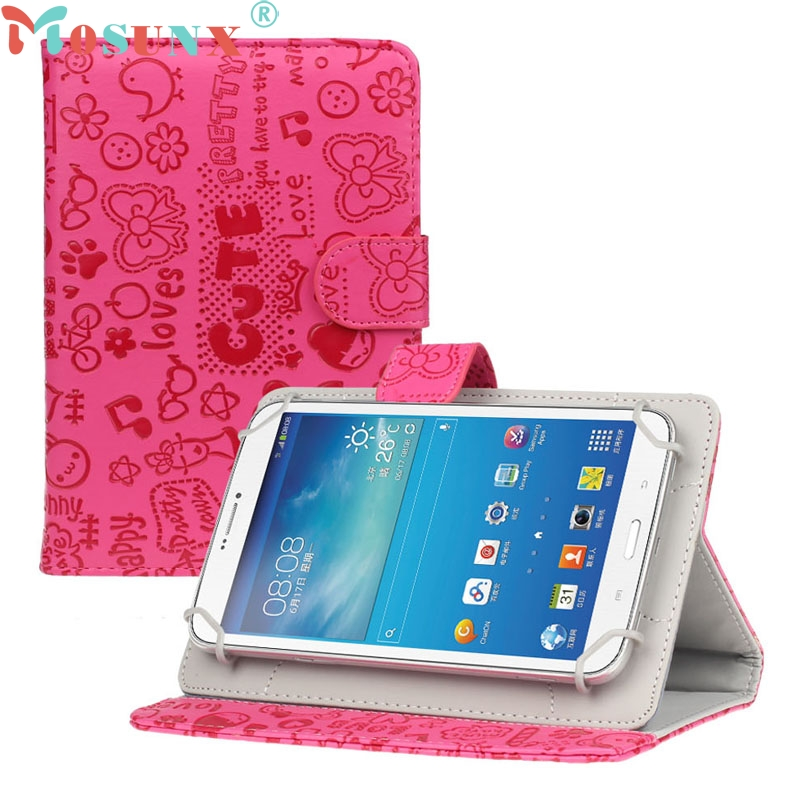 Top Quality 2016 New For 7 inch Android Tablet New Universal Leather Flip Stand Case Cover  Sep5 universal 7 inch tablet case for visual land prestige elite famtab 7inch pu leather flip stand case cover for mid andriod tablet