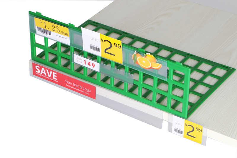 Самоклеящаяся лента для передачи данных держатель этикеток полка край ценник