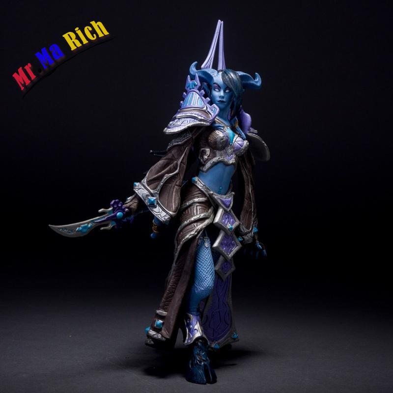 Hit Wow Gioco Online Serie 3 Draenei Mage Figure Figura Bambola Nuovo Giocattolo Del Pvc Magic Collection 22 Cm