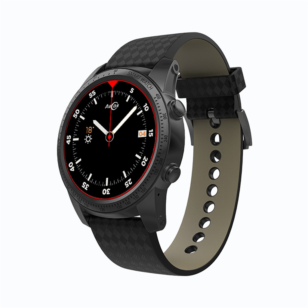 AllCall W1 3G Smartwatch Phone Android Quad Core 2GB+16GB Heart Rate Monitor 400mAh Reloj Inteligente 19Mar28