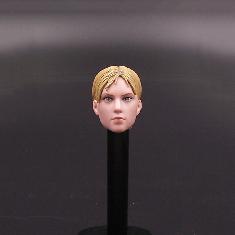 1/6 The Resident Evil Gill Head Sculpt With Yellow Hair For 12 InchBody Action Figure gill hasson positive thinking