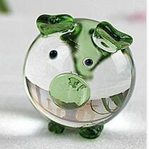 1 Piece Cute Pig Crystal Figurines Miniatures Handmade Glass Animal Pet Crafts Home Decor Kids Gifts Action Figures Home Decor & Accessories Toys cb5feb1b7314637725a2e7: Black|Blue|Green|Pink|Yellow