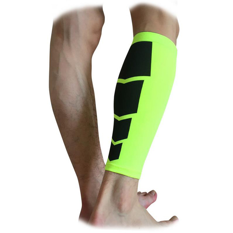 1 PC Unisex Compression Leg Sleeve Shin Guard Gym Sports Cycling Leg Warmers Running Basketball ...