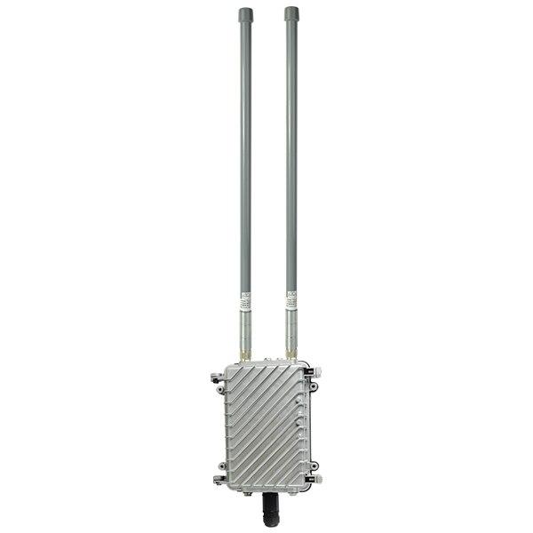300 Mbps CF-WA700 haute puissance 2.4G sans fil wifi mur-croisement publicité extérieure AP 2 * 8dBi FRP antenne fer Shell AP/routeur