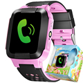 Touch Screen SOS Smart Watch 1.44'' Electronics Tracker Watches Kid Girls Boys Children Chirsmas Gift Toys PK Q60 Q90 Q50 Q80