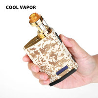 Original Cool Vapor MADPUL VW Kit Military with 3ml Capacity & 200W Max Output Style Cartridge Clip Design No 18650 Battery