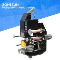 ZONESUN ZY 819k2 116*120 мм автоматические пневматические горячего тиснения кожа логотип биговки штампа слова машина