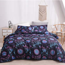 Magical Aeolian Bells Pattern Ancient Ethnic Style Bedding Sets 9 Size Single/EU Double/Full/Queen/King Size Duvet Cover Sets plus size scoop neck aeolian bells tank top