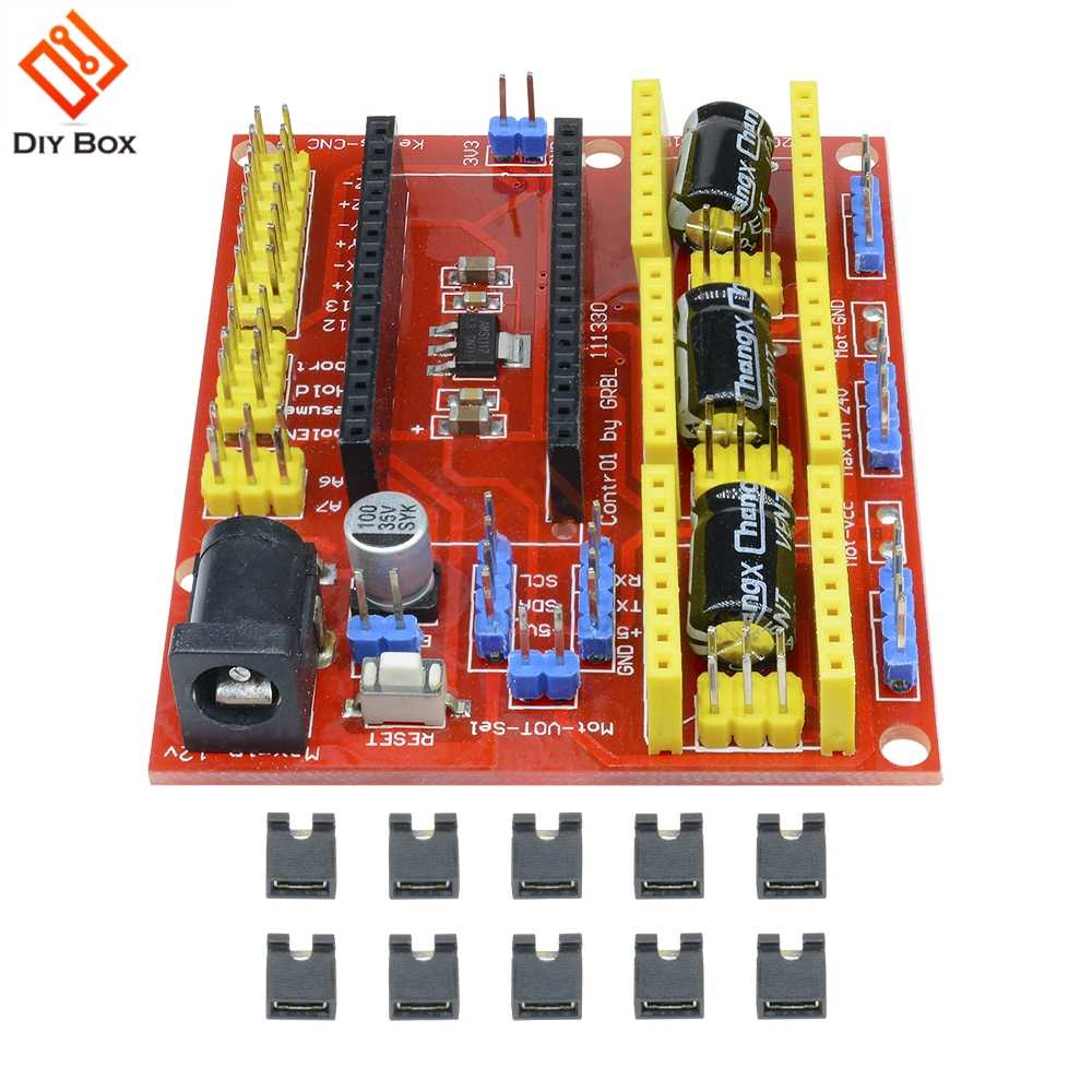 CNC V4 Shield Engraving Machine Stepper Motor Driver for Arduino GRBL Compatible