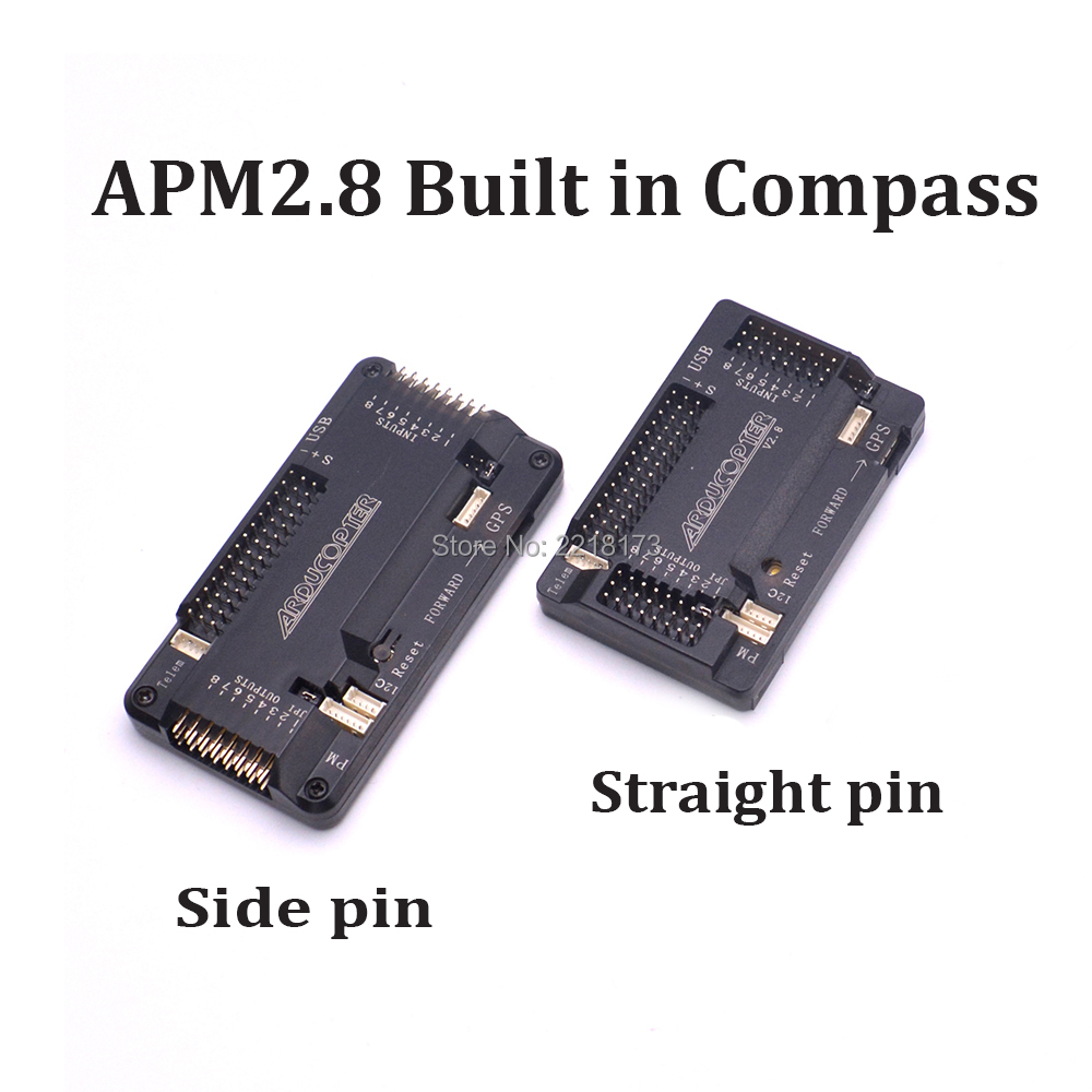 APM2.8 APM 2.8 Flight Controller Board side pin / straight pin Built in Compass For RC Quadcopter F450 S500 X500 vel vel 03 14 02 00600