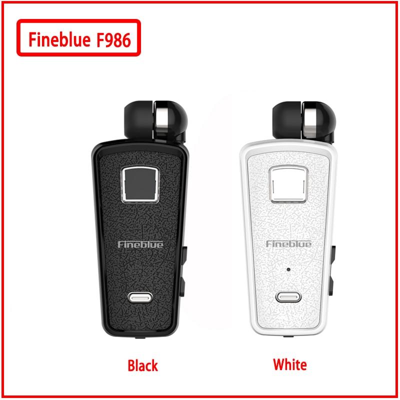 9ba0e8ebd9f Fineblue F986 NEW Bluetooth Earphone In-Ear Handsfree with Microphone  Headset Mini Wireless Earphones Vibration to Remind