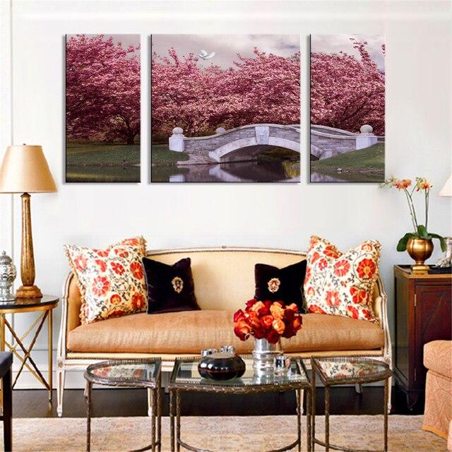 nordique plaques moderne peintures sur toile triptyque art imprimer modulaire peinture tableaux. Black Bedroom Furniture Sets. Home Design Ideas
