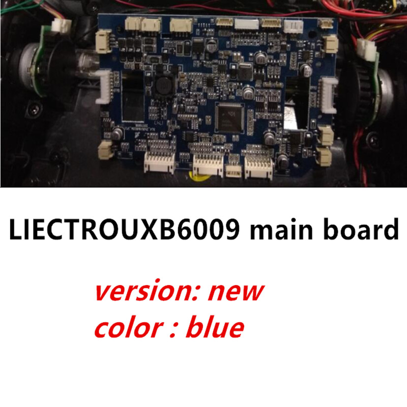 (For B6009) Mainboard for LIECTROUX Vacuum Cleaning Robot , 1pc/pack, only suit for new version,the color of main bord is blue for kk8 front wheel for vacuum cleaning robot 2pcs pack