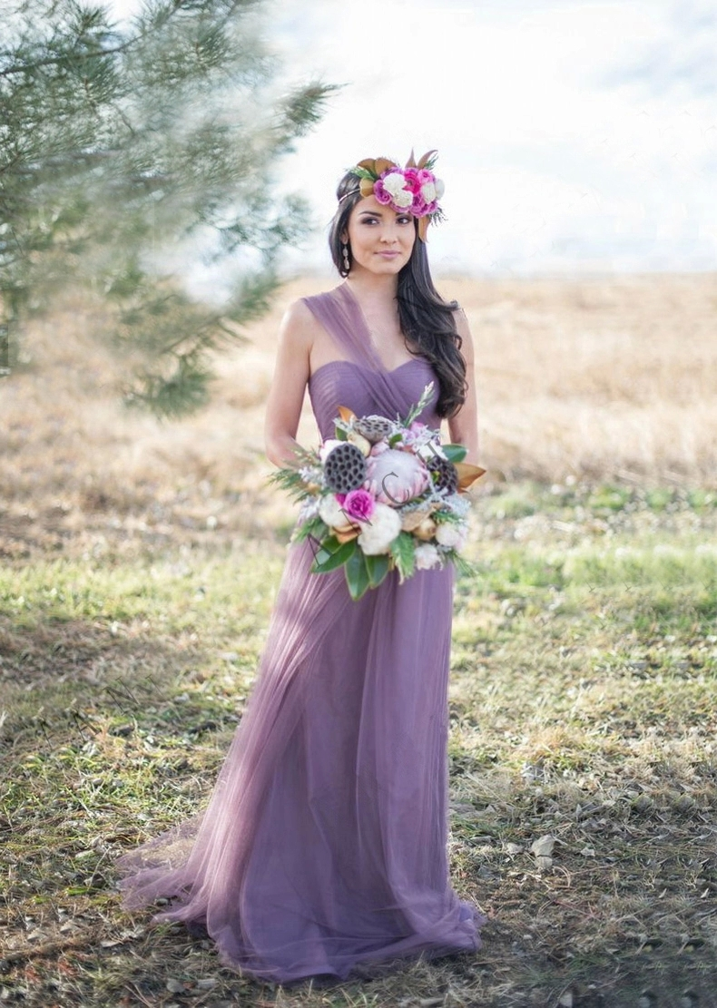 2018 spring party dresses lavender purple lilac haler strapless 2018 spring party dresses lavender purple lilac haler strapless floor length long tulle bridesmaid dresses for weddings al060603 in bridesmaid dresses from ombrellifo Images