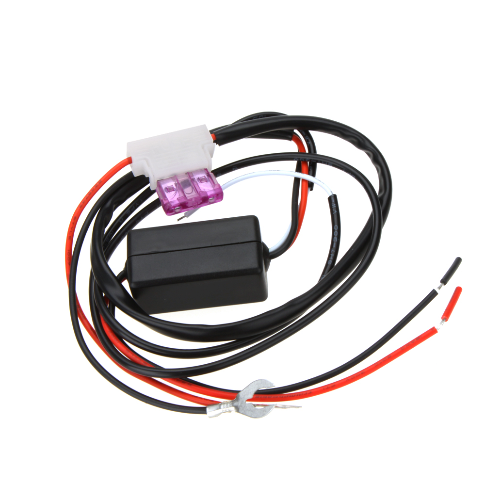 Drl Controller Auto Car Led Daytime Running Light Relay Harness Automotive Ignition Switches Wiring Harnesses And Controllers 1