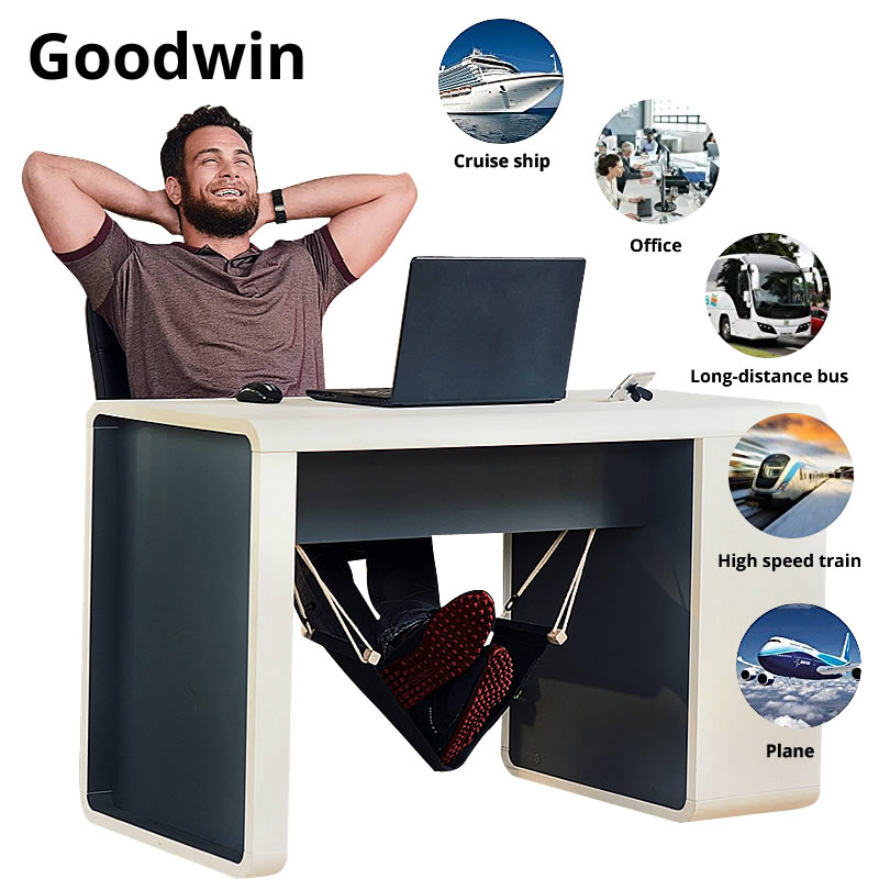 Portable Desk Footrest, Leg Rest Hammock, Make Your Work Time Very Comfortable. Foot Hammock