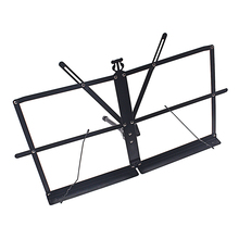 Music-Stand-Holder Tabletop Folding with Waterproof Carry-Bag Metal-Sheet