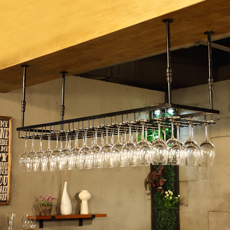 Кованые подстаканник винный шкаф Стекло стойки Кухня обеденный Бар Кубок держатель Вешалка крючок организации бар и винные Инструменты