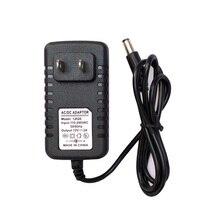 AC 100-240V to DC 12V 2A Switching Power Supply Converter Adapter US Plug Black   High Quality –M25