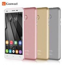 "Oukitel U7 Plus smartphone 5.5 ""HD MT6737 Quad Core 2 GB RAM 16 GB ROM Android 6.0 13.0MP Cámara 2500 mAh 4G Móvil Celular teléfono"